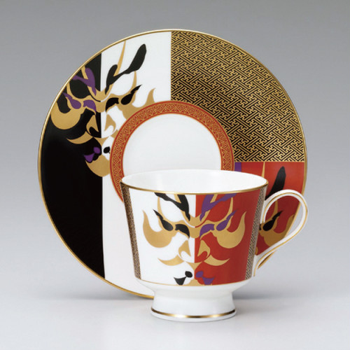 NARUMI Japan 【歌舞伎】1客碗皿