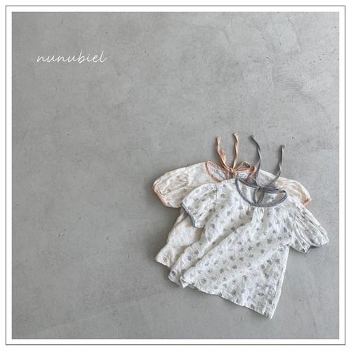 【予約販売】pure blouse〈nunubiel〉