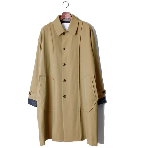 Back Side Over Coat -beige <LSD-AI3C2>