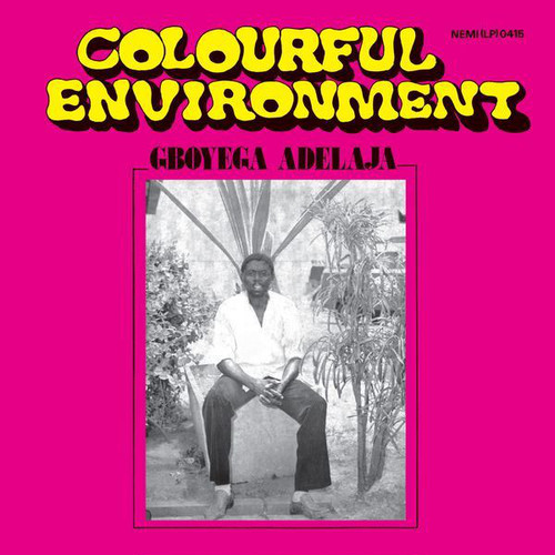 【LP】GBOYEGA ADELAJA - COLOURFUL ENVIRONMENT <LIVINGSTONE STUDIO>LIVST006LP
