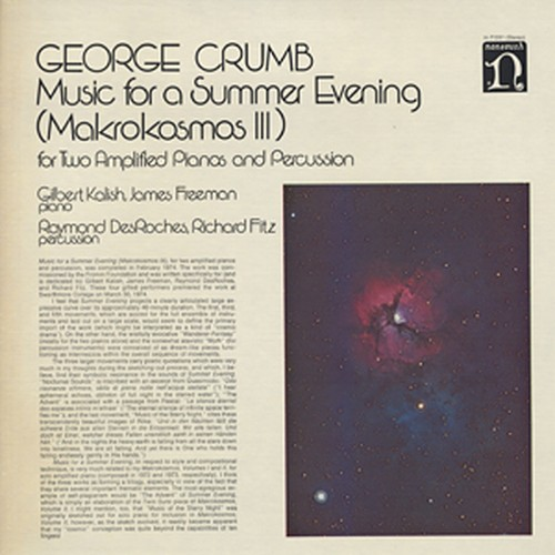 GEORGE CRUMB - Music For A Summer Evening (Makrokosmos III)