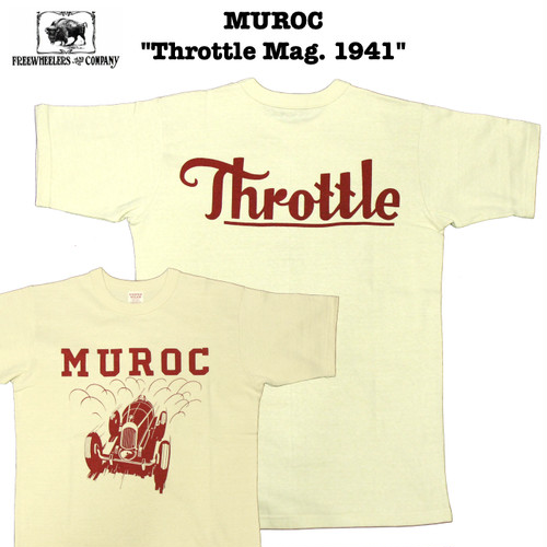 "MUROC ""Throttle Mag. 1941"" FREEWHEELERS/フリーホイーラーズ POWER WEAR/パワーウェア #1925018"