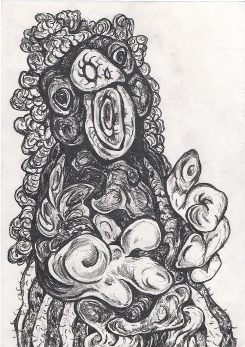 ラーテルさん(あなぐまハチロー)「藻屑」