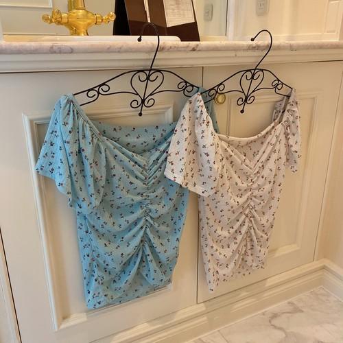 mini flower blouse