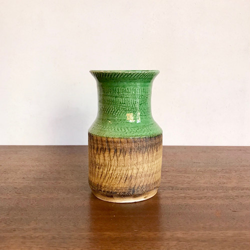 Vintage Dutch Pottery Vase オランダ