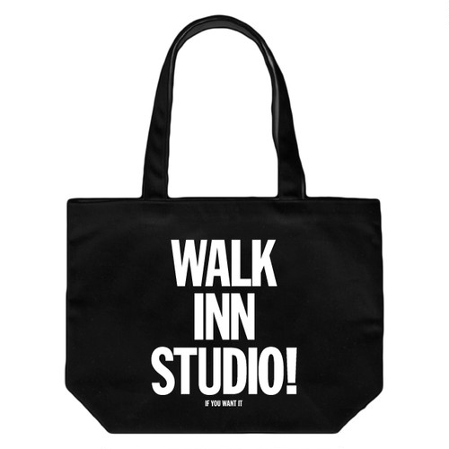WALK INN TOTE BAG <ブラック>
