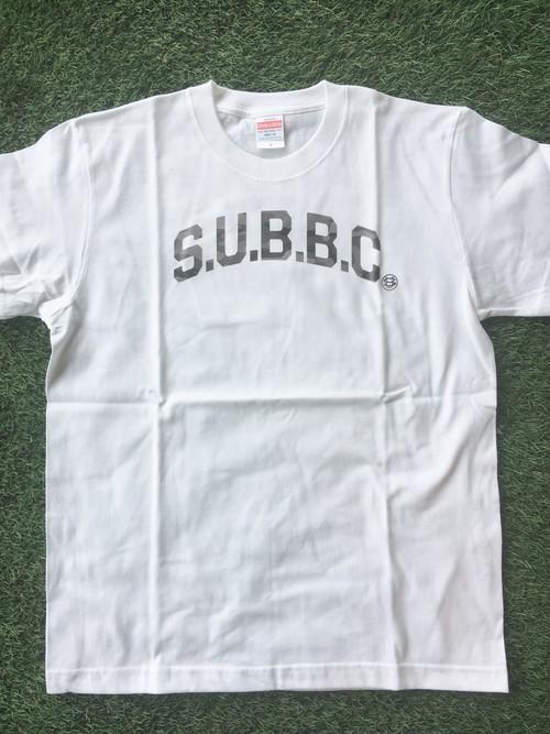 S.U.B.B.C 迷彩ロゴTシャツ