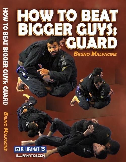 お取り寄せ中です!ブルーノ・マルファシーニ 大きい相手を倒す方法 DVD4枚セット|ブラジリアン柔術テクニック教則