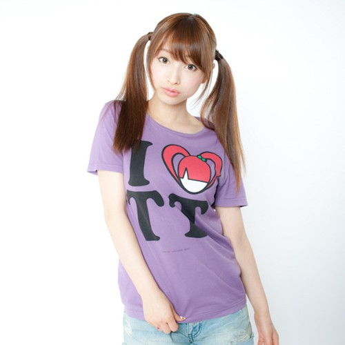 I LOVE TT T-shirts(Purple)
