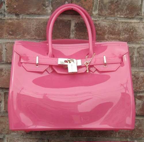 TheDelight JELLY BIRKIN NO FLAP BAG PINK ジェリー バーキン バッグ