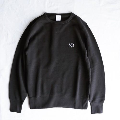LCR オリジナルスウェット(logo刺繍・BLACK)