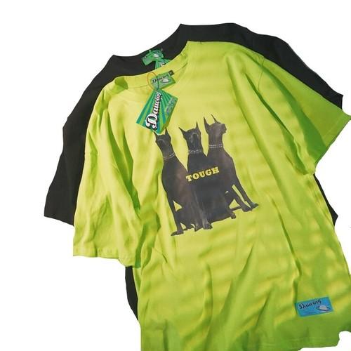 ★UNISEX ToughドーベルマンTシャツ(Neon,Black) 49