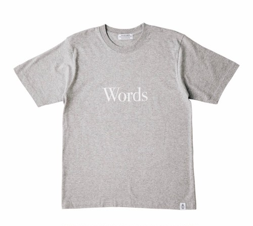 """POET MEETS DUBWISE """"WORDS AND SILENCE TEE"""" 再入荷"""
