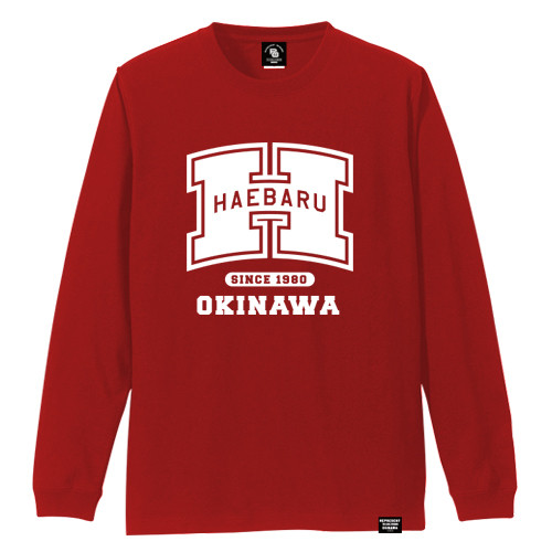 HAEBARU TOWN LONG SLEEVE TEE
