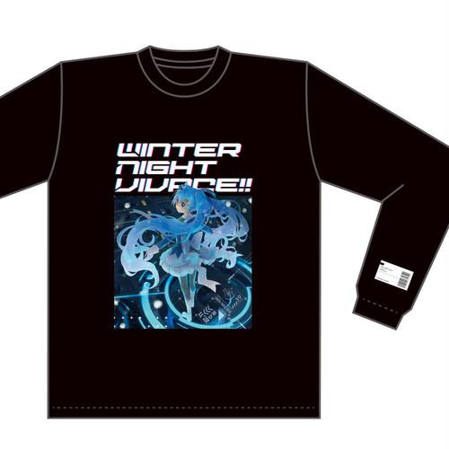 Winter Night Vivace!! ロングスリーブTシャツ