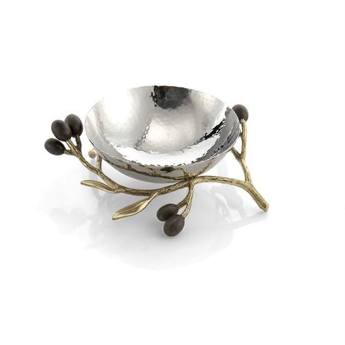 Michael Aram Olive Branch Nut Dish(マイケルアラム オリーブブランチ ナッツデッシュ)175119