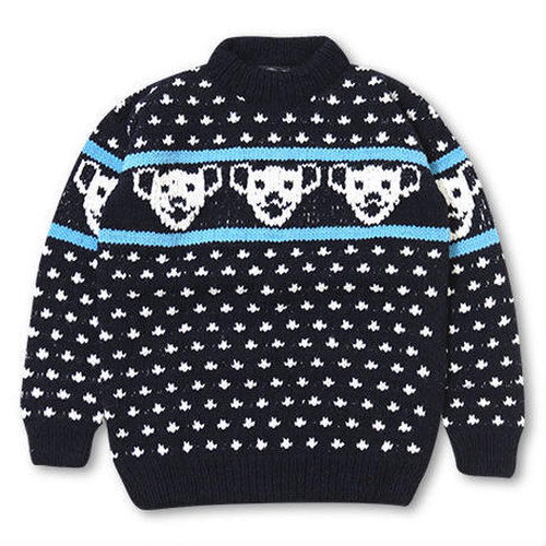 BEAR SWEATER / DOWN ON THE CORNER