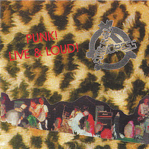 FUNERAL DRESS - Punk! Live & Loud! CD