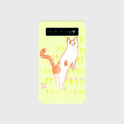 水彩!かわいいおしり モバイルバッテリー