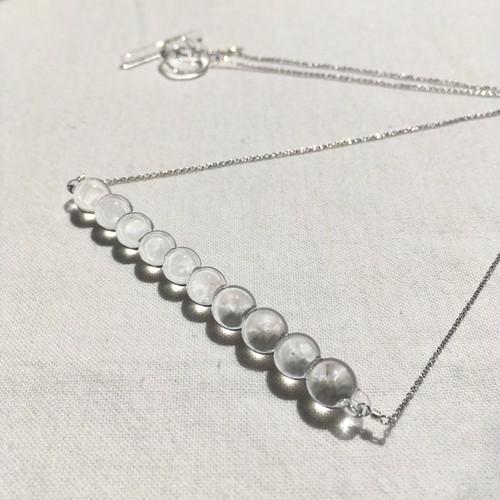 auroraglass / pluie necklace / 20-n4