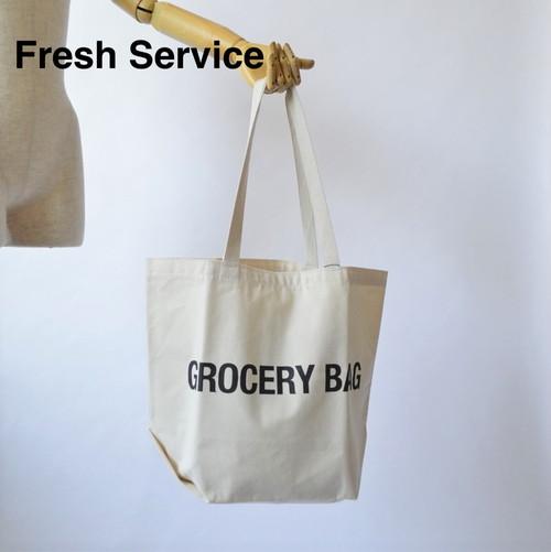 Fresh Service/フレッシュサービス・CANVAS TOTE BAG
