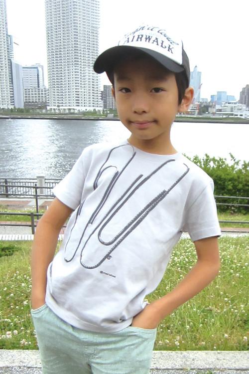 クリップ キッズ半袖Tシャツ 親子おそろいTシャツ