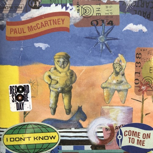 Paul McCartney / I don't know Come On To Me(EU盤)[中古7inch]