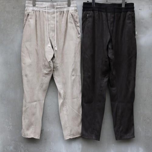 YANTOR Suede Track Pants