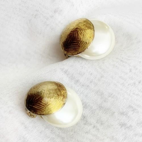 vintage earring pearl original