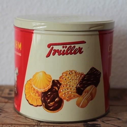 ヴィンテージ CELLR RUHM Trüller クッキー缶