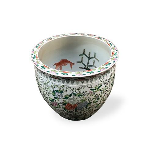 【陶器 水鉢 金魚鉢 メダカ鉢】