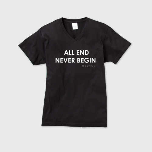 show PRODUCE 「ALL END NEVER BEGIN」 Sサイズ V-NECK T-SHIRT