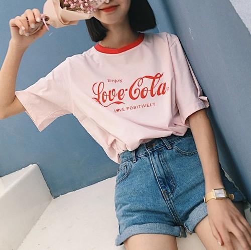 【お取り寄せ商品】cola logo T shirts 2778
