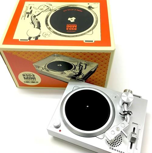 RSD3 Mini Turntable ミニターンテーブル:3インチ専用レコードプレイヤー