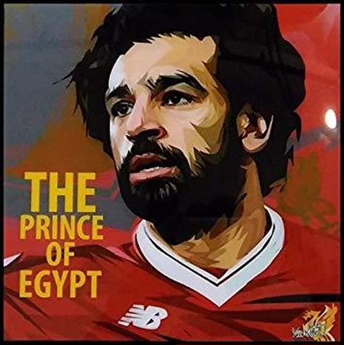 モハメド・サラー リバプールFC エジプト代表 ポップアートパネル