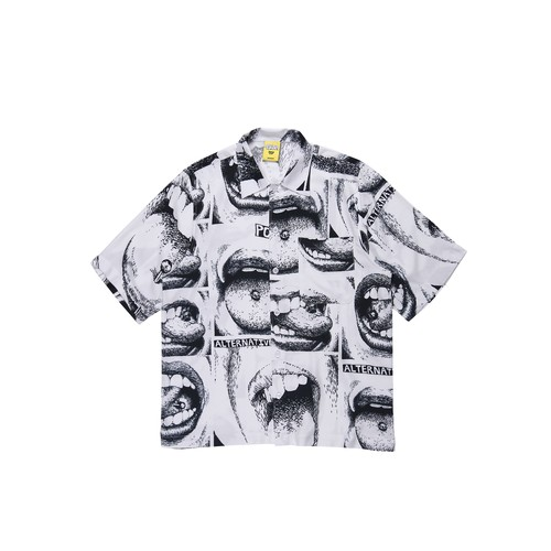 POLAR SKATE CO x IGGY NYC / ALERTNATIVE YOUTH SHIRT -WHITE-