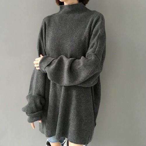 ハイネックセーター KN04