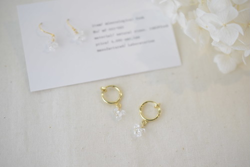 particle motif fook&earring