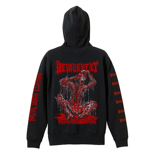 Dysmorphic Autophagia Hoodie (Devourment collaboration)