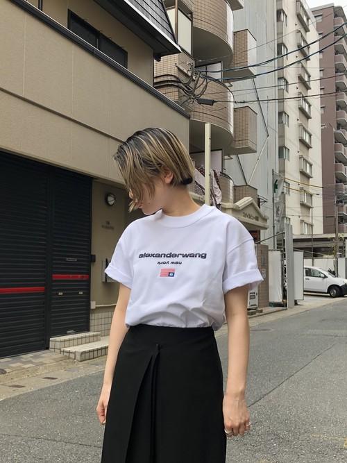 【20SS】alexanderwang アレキサンダーワン/ Logo T Shirts (WHITE)