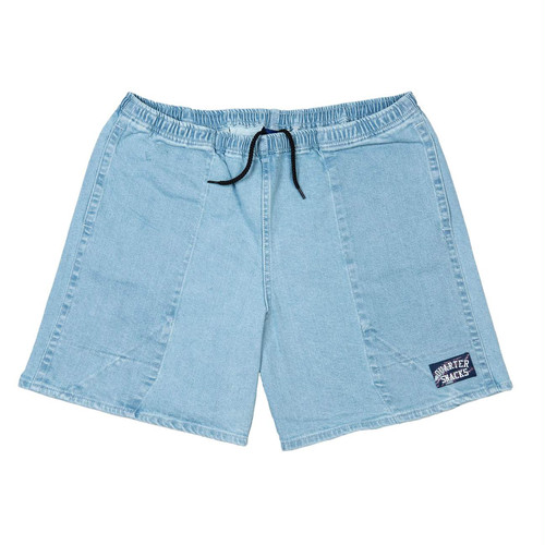 QUARTERSNACKS / JORTS -LIGHT DENIM-