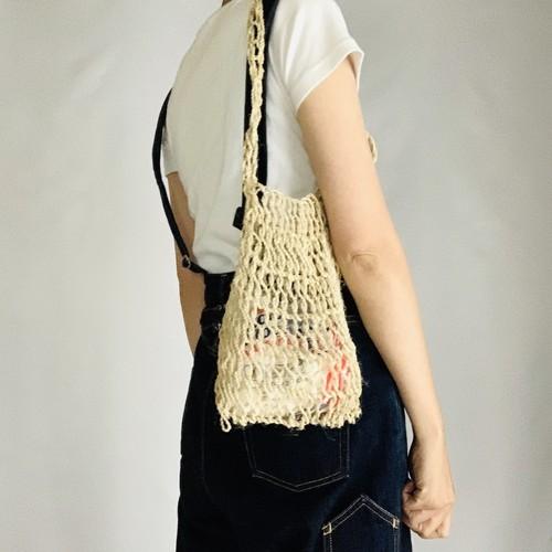 Palm Mesh Bag S(ヤシによる編みバッグS)