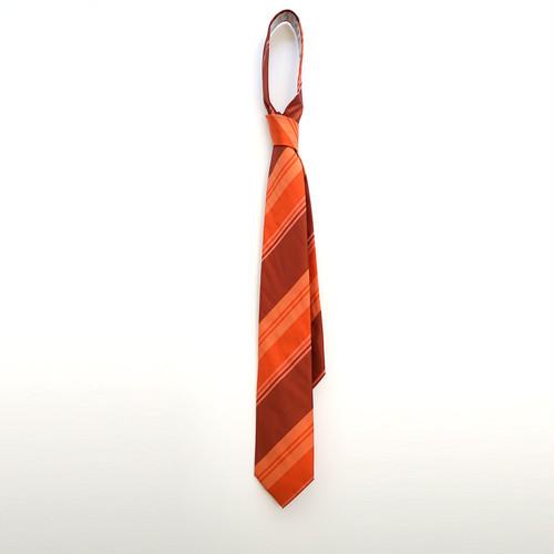 縞甲斐絹 オレンジストライプ