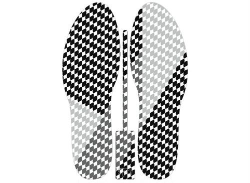 グラフィックインソール SOKO(キモノ:イチマツ)中敷き・市松・和柄・消臭