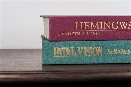 【LS049】HEMINGWAY -2set-/display book