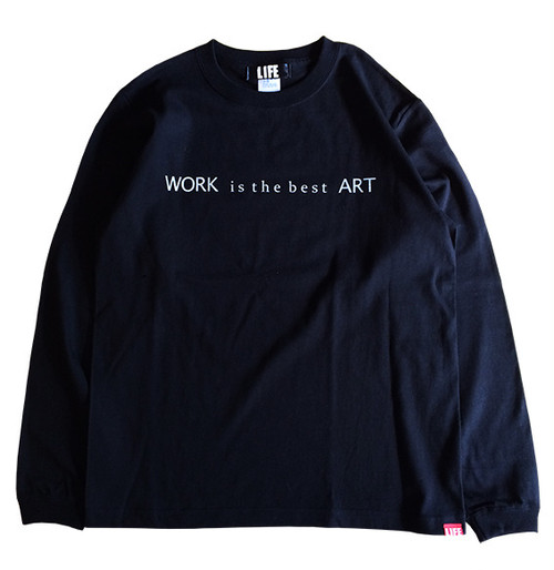 WORK is L/S TEE