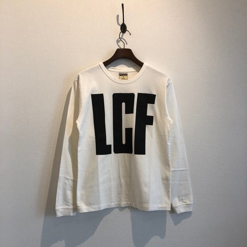 Graphic LS Tee / LCF WHITE / LOST CONTROL