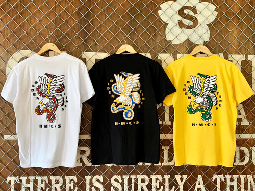 【Tシャツ人気NO,8】SNAKE&EAGLE TEE