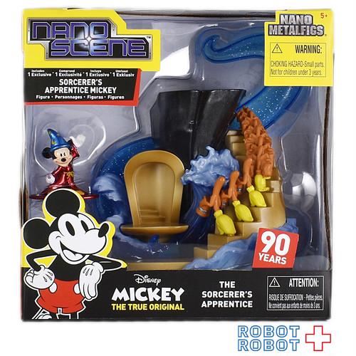 ジャダトイズ ナノ・メタルフィギュア ナノ・シーン ミッキーマウス90周年