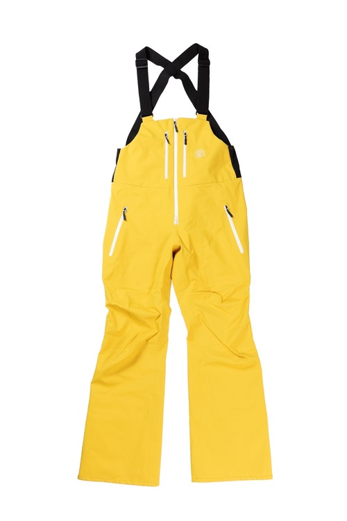 2021unfudge snow wear // SMOKE BIB PANTS // YELLOW
